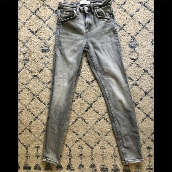 Zara Women Premium Denim Collection High Rise Jean